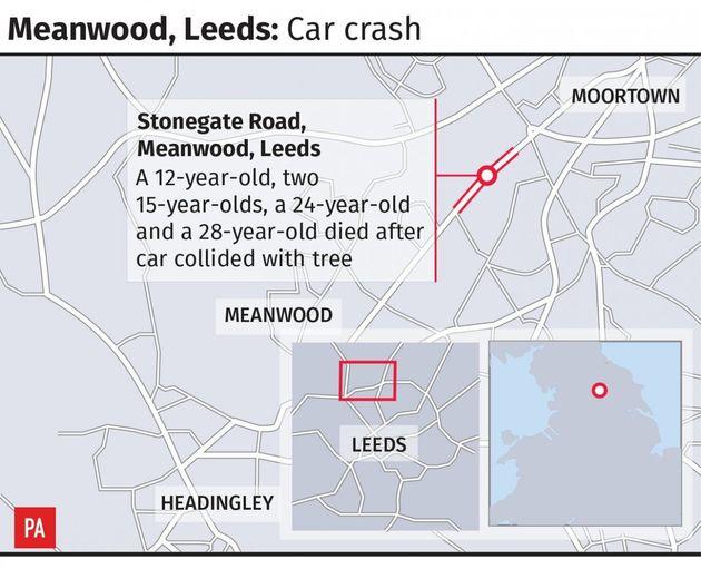 Investigations Continue After Car Crash Leaves Five Dead Amid 'Complete