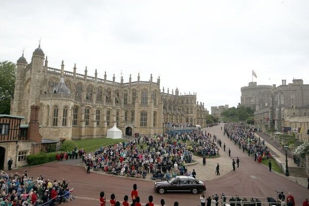 Announcement Sets In Train Preparations For Harry And Meghan'S Big