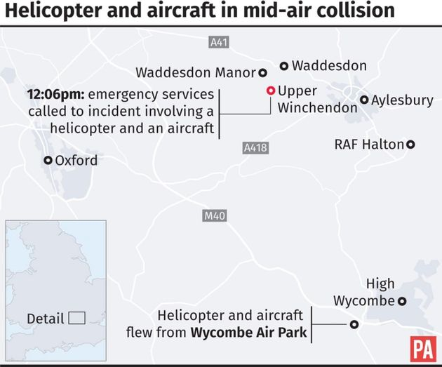 Three Britons And Vietnamese Man Killed In Helicopter And Plane
