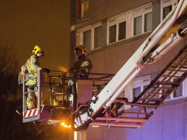 Firefighters Praised For Preventing Deaths After High-Rise Fire In