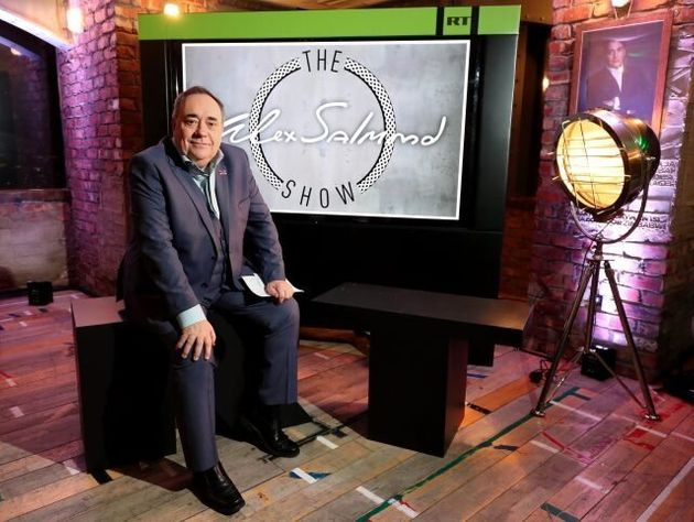 Carles Puigdemont Appears On Alex Salmond'S First Show On Russian TV