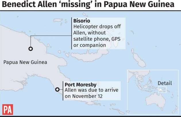 Explorer Who Went Missing On Trip To Reach Remote Tribe Spotted Alive And