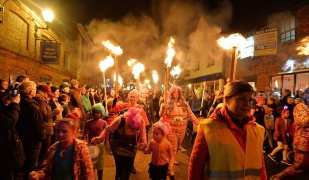 In Pics: Huge Crowds Turn Out For Bonfire Night