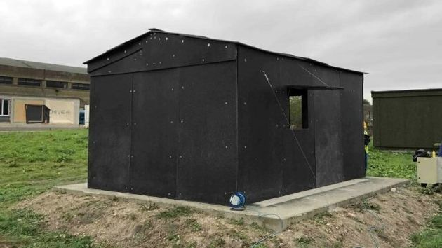 Waste Plastic Used To Make Recyclable Shelters For Displaced