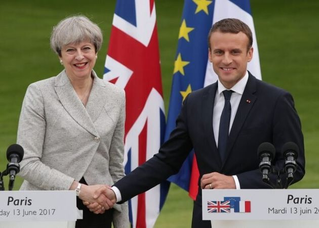 Anger As French Leader Demands More Clarity From May To Break Brexit