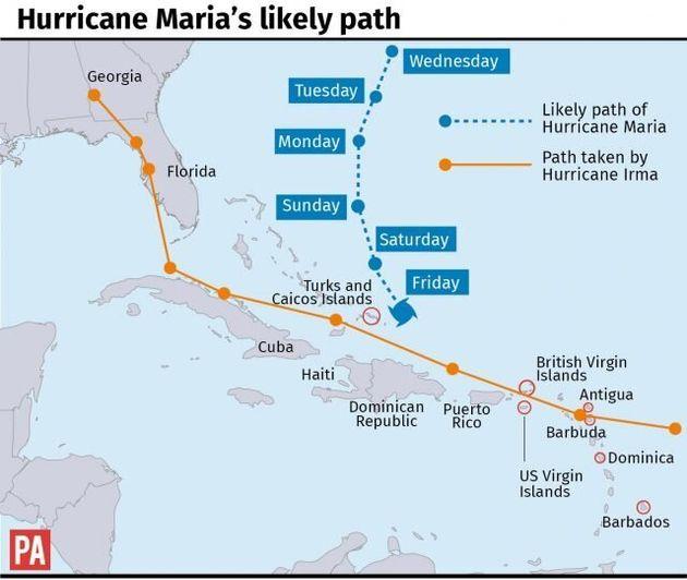 British Man Dies As Hurricane Maria Capsizes Boat Off Puerto