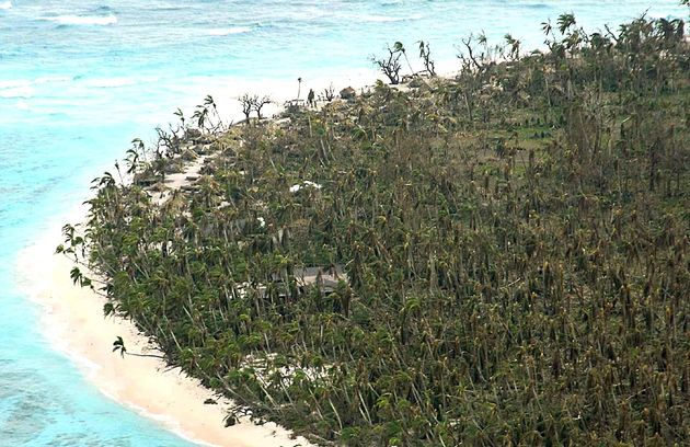 Les îles Salomon sur lesquelles les naufragés ont été