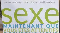À Dijon, une liste écolo affiche le mot