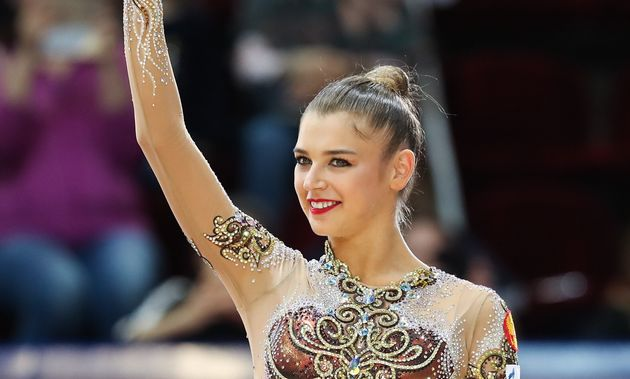 La star della ginnastica ritmica Alexandra Soldatova: