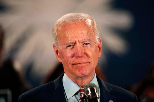 Joe Biden, ici lors d'un meeting de campagne à Columbia en Caroline du Sud le 11 février