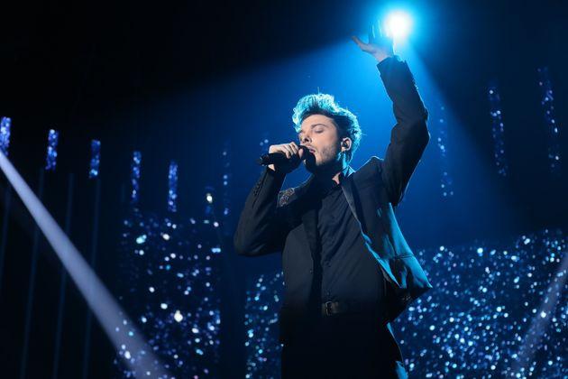 Blas Cantó canta 'Universo' en 'OT