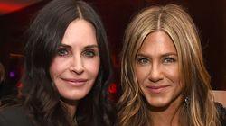 La foto de Jennifer Aniston y Courteney Cox que tendrás que mirar dos veces para lograr