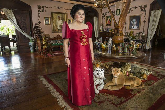 Η Ιμέλντα Μάρκος στα 85α γενέθλια