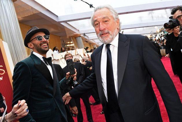 JR et Robert De Niro le 9 février 2020 au