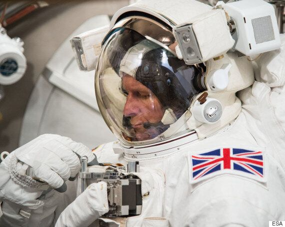 Watch Live Tim Peake's Historic First Spacewalk Aboard The ISS At 12:55