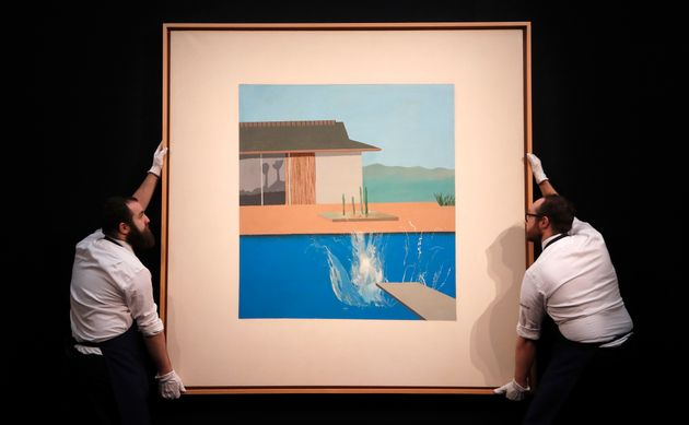 «The Splash»: Πόσα εκατομμύρια πωλήθηκε το έργο του Ντέιβιντ Χόκνεϊ σε