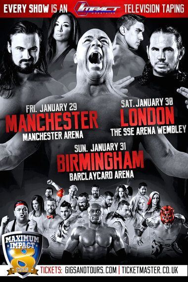 Royal Ramblings: Dream Booking the TNA-UK