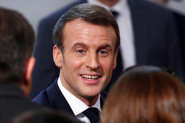 Emmanuel Macron à la conférence nationale sur le handicap mardi 11 février 2020...