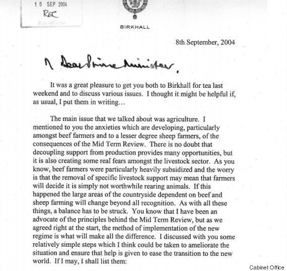 Black Spider Memos Defended By Prince Charles As They're Finally