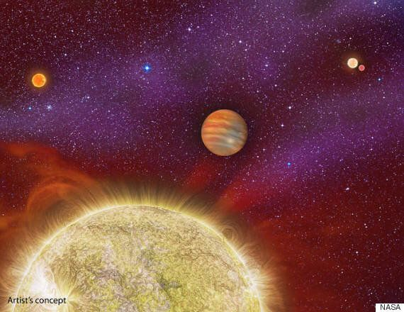 NASA Finds A Planet With Four 'Home'