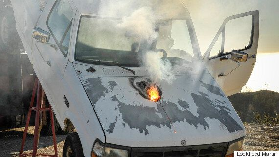 Lockheed Martin's Terrifying New Laser Can Melt The Engine Out Of A