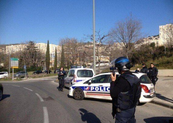 Hooded Gunmen Fire At Police In Marseille Ahead Of French PM