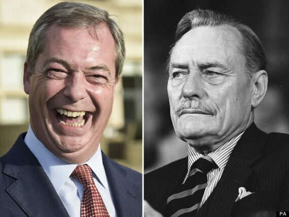Nigel Farage Tried To Get Enoch Powell's Public Backing For By-Election.