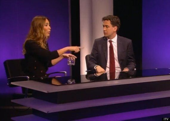 Watch Myleene Klass Shout At Ed Miliband Over The Mansion