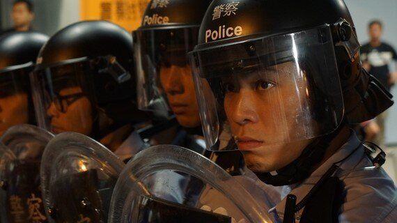 Umbrellas vs. Riot Shields as Hong Kong Protesters Expand Occupy
