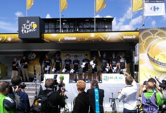 The Tour de France in Britain: Meeting the