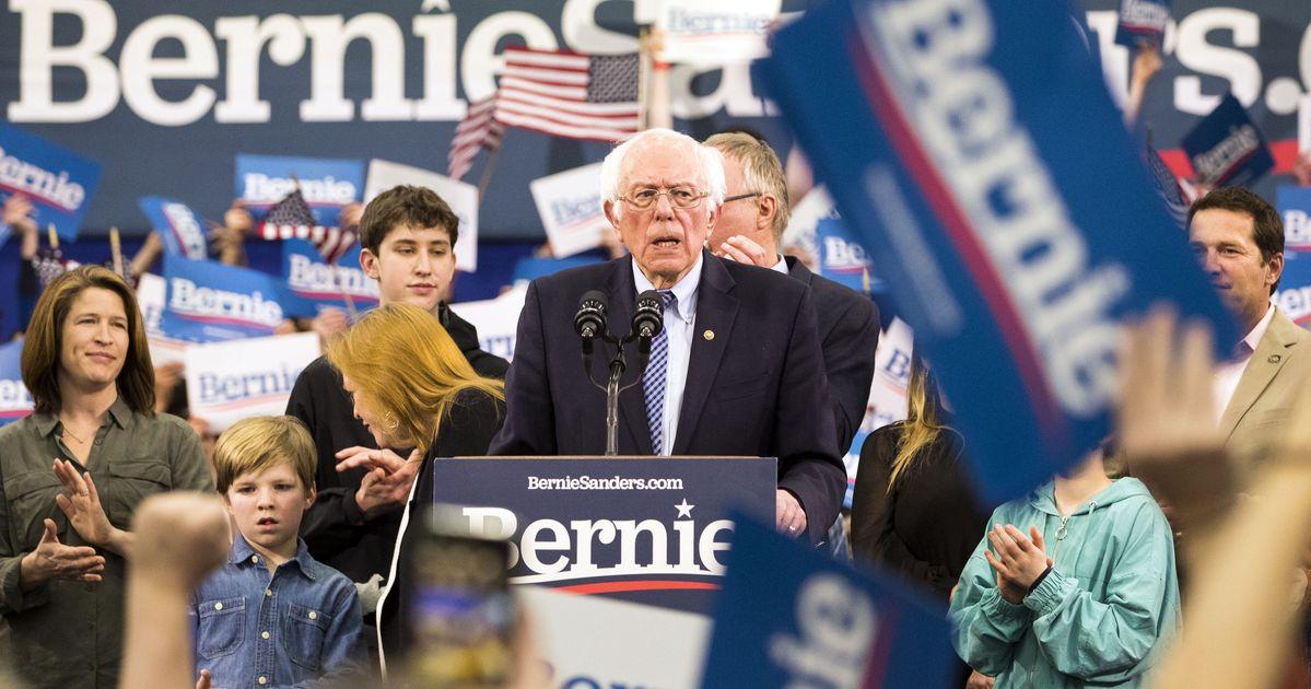 2020年にバーニーサンダースが民主党のフロントランナーとして登場