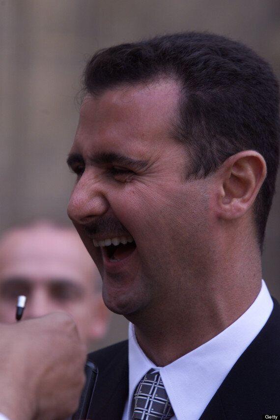 Syrian Dictator Bashar Al-Assad Jokes He 'Should Have Won The Nobel Peace