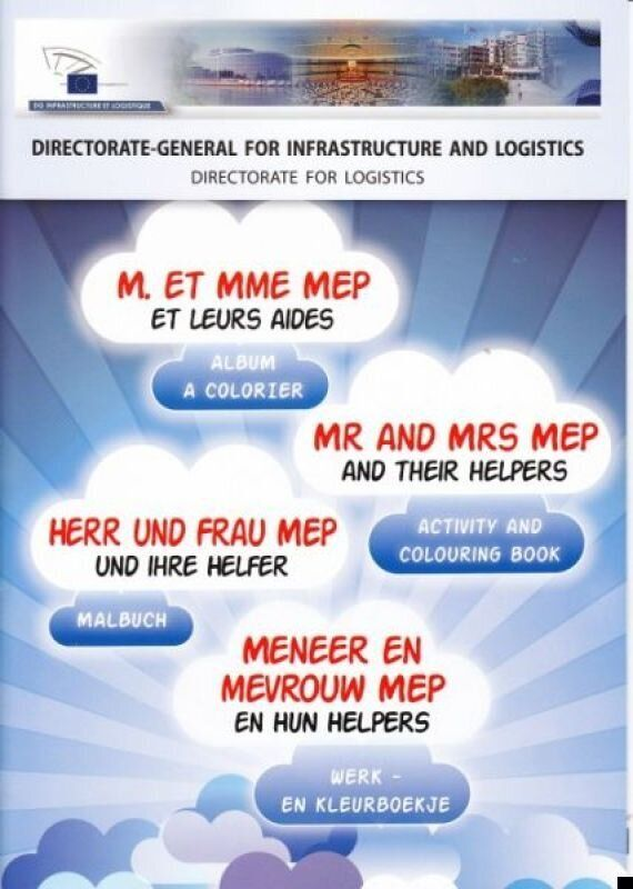 European Parliament Hits Back After 'Mr And Mrs MEP' EU Colouring Book Mocked By