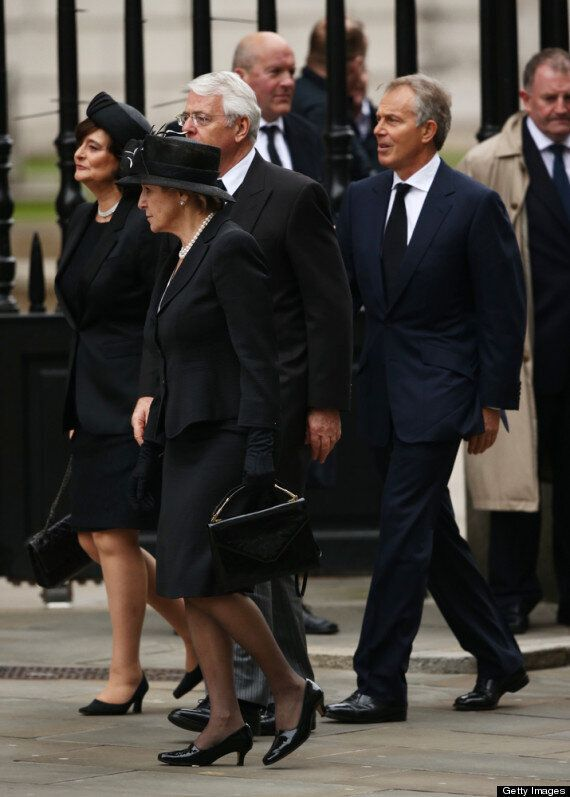 Margaret Thatcher Funeral: Service For Former Prime Minister Takes Place At St Paul's Cathedral