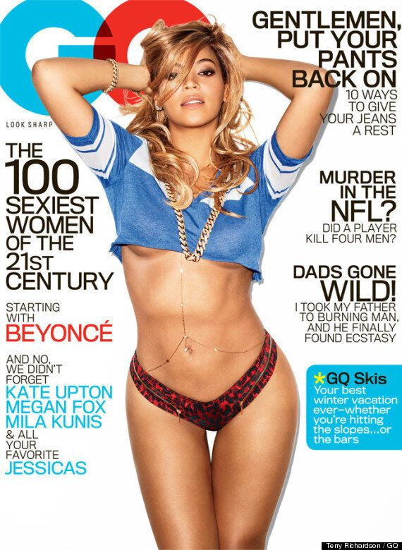 Beyonce GQ Cover: Blue Ivy's Mum Strips Down To Mark Musical