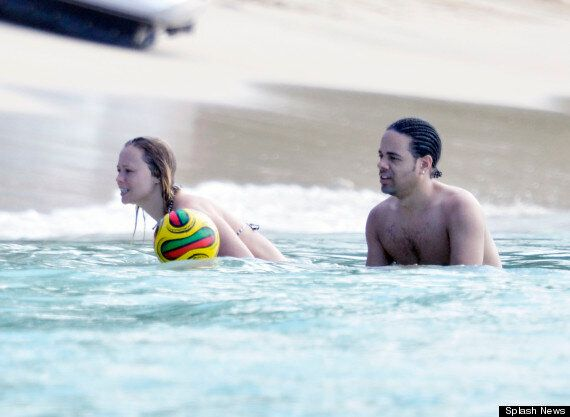 Kimberley Walsh Shows Off Her Post-'Strictly' Figure On Caribbean Break