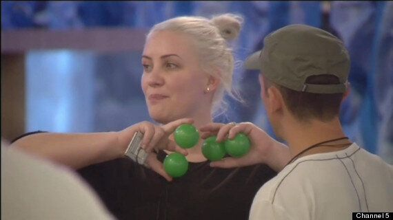'Celebrity Big Brother' 2013: Housemates Get Greased Up For Against All Odds Task