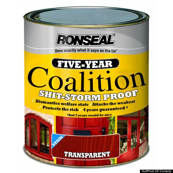 NEW! Ronseal 'Coalition'