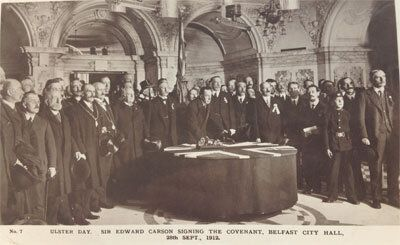 Reflections on Edward Carson and the 100th Anniversary of the Ulster