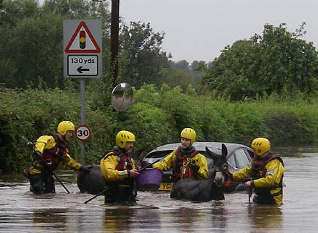 UK Weather: Dramatic Pictures Of Flooding Across