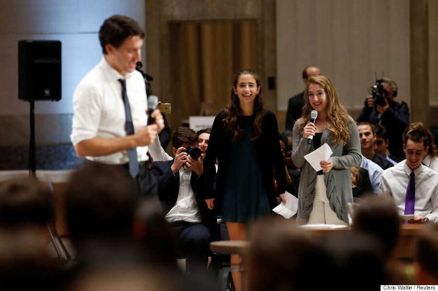 Trudeau's Year Of Sunny Ways And Growing Pains, As Seen By His Closest