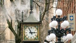 Gastown Steam Clock Removed For