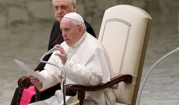 Le pape François, ici au Vatican ce 12 février, n'a pas répondu à la demande...