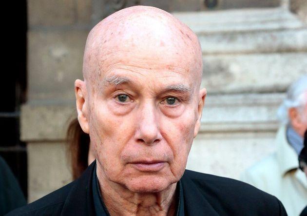 L'écrivain Gabriel Matzneff, le 10 avril