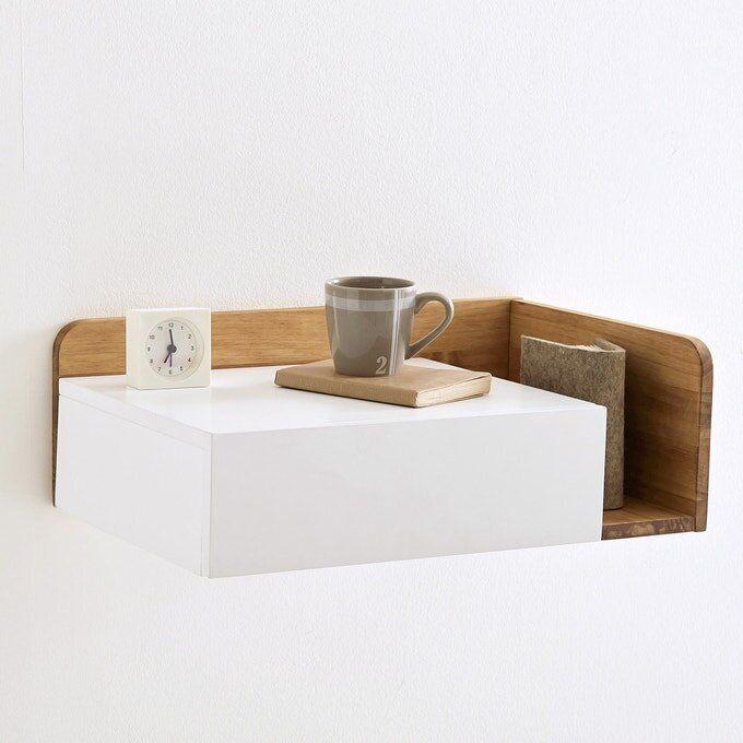 Jimi Floating Bedside Table, Left-Hand Side, Laredoute