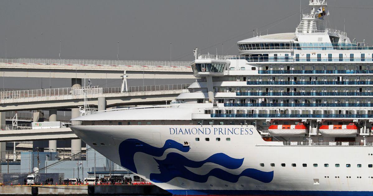 コロナウイルス事件が日本で検疫下のクルーズ船に登る