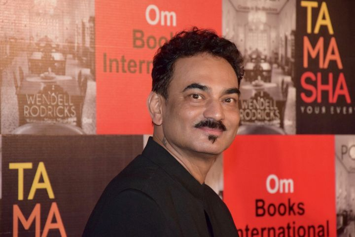 """MUMBAI, INDIA - JULY 12: (EXCLUSIVE COVERAGE)  Wendell Rodricks launches his new book """"Poskem - Goans In The Shadows"""" at Tamasha on July 12, 2017 in Mumbai, India.  (Photo by Rubina A. Khan/Getty Images)"""