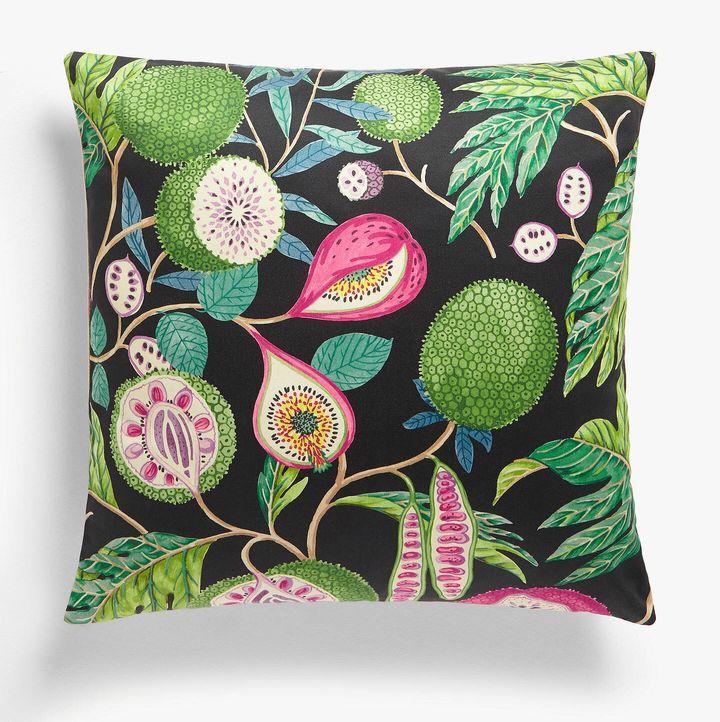 Sanderson Jackfruit Cushion, John Lewis