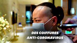 Contre le coronavirus, ce coiffeur de Wuhan coupe gratuitement les cheveux des
