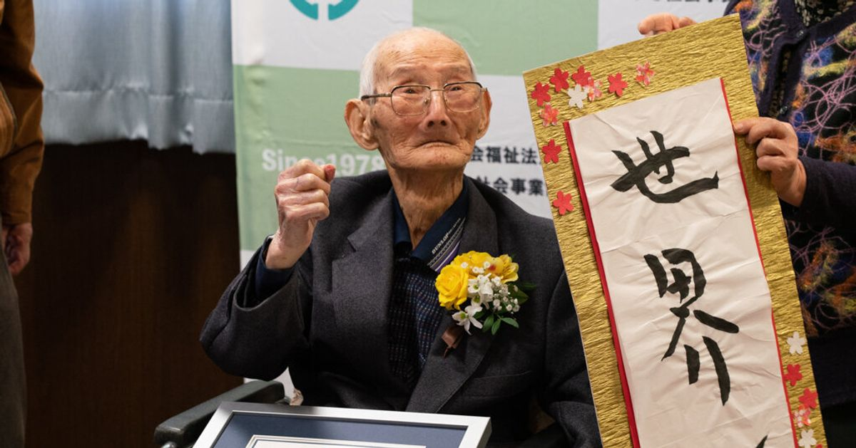 Guinness Confirms 112-Year-Old Chitetsu Watanabe As Oldest Living Man